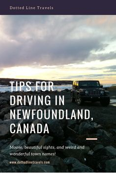 Driving is a must if you're visiting Newfoundland since so many beautiful spots are scattered all over the island. Here are some tips for driving in Newfoundland. Stay safe and enjoy the view! Newfoundland Canada, Newfoundland And Labrador, Gros Morne, Canada Destinations, Nature Sauvage, East Coast Road Trip, Single Travel, Visit Canada, Amigurumi