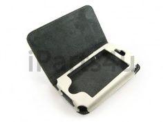 Boek Case iPhone 4S & 4 Wit Leder