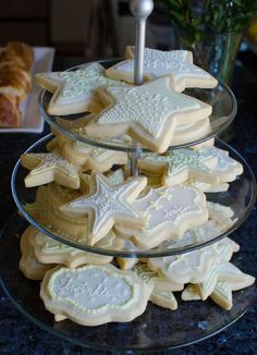 Twinkle Twinkle Little Star baby shower party cookies! See more party ideas at CatchMyParty.com!