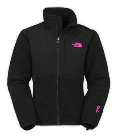 The North Face Women's Pink Ribbon Denali Fleece Jacket - Dick's Sporting Goods from DICK'S Sporting Goods. Saved to clothes.