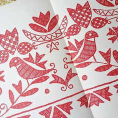 Chicken Scratch, Folk Embroidery, Diy Bags, Bird Cage, Packaging Design, Pattern, Cards, Decor, Hungarian Embroidery
