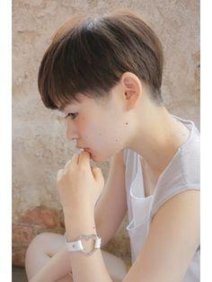 【+~ing deux】刈り上げツーブロックショート【上川渡紗穂】 - 24時間いつでもWEB予約OK!ヘアスタイル10万点以上掲載!お気に入りの髪型、人気のヘアスタイルを探すならKirei Style[キレイスタイル]で。