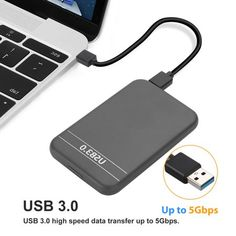 """""""30 Day Money Back Guaranteed! 12-month free replacement warranty for manufacturer's defects!  Product Features:  2.5\"""" External Hard Disk Drive USB 3.0 Data Transfer Portable HDD Hard Disk 3TB.  3TB portable External hard drives, delivers handy portable storage, provides ample storage space for your music, movies and other files.  USB 3.0-powered portable add-on storage. Plug and play, easy to use with no software to install.  Sleek, thin and easy-to-use external hard drive, easy to take wherev Portable External Hard Drive, Hard Disk Drive, Your Music, Easy To Use, Hdd, Software, Money, Computer Hard Drive, Silver"""