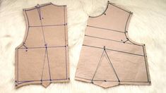 Easy Basic Bodice Block for Beginners   Learn how to draft a bodice pattern with this video tutorial!