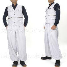 Toraichi 7260-611 Vest 7260-414 Long knicker pants
