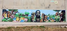 wall painting in Malaga photo by Jan Katuin