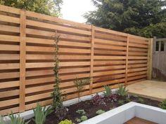 Image result for contemporary cedar fence trellis