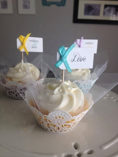 Simply Creative  Tulle & Lace Cupcake Wrappers by ShoppeSimply