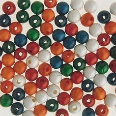 Wooden Beads  (bag of 100)