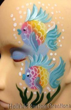 Fish #facepaint #tampa #hollifieldcustomcreations