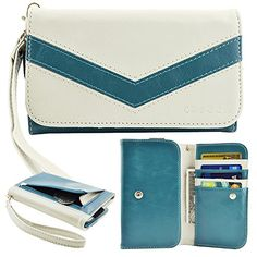 caseen ViVi Women's Smartphone Wallet Clutch Wristlet Case (Blue/White) for LG Optimus L90 L9 F6 F3Q F3, Samsung Galaxy Rugby Pro Avant Exhibit Light S4 SIII mini, HTC Desire 610, KYOCERA DuraForce, Nokia Lumia 521 635, ALCATEL ONETOUCH Fierce 2, Evolve caseen http://www.amazon.com/dp/B00S1XGS2W/ref=cm_sw_r_pi_dp_qgLdvb19YX97Y