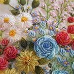"98 Likes, 5 Comments - 건대프랑스자수 steady_embroidery (@steady_embroidery) on Instagram: ""#embroidery #handmade #gachi"""