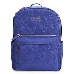 9a72e4c670c Mickey Mouse Preppy Poly Backpack by Vera Bradley - Violet