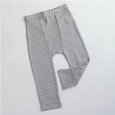 Stripe Leggings w/Feet Covers – pomme