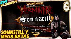 🎮 SONNSTILL y MEGA RATAS 👻 Warhammer End Times VERMINTIDE #6 Gameplay Es...
