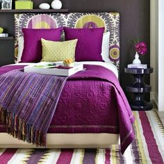 #goodmorning #striketherighttone #bedrooms #bedroomideas #bedroomtips #colorfull #ikat #ikatpattern