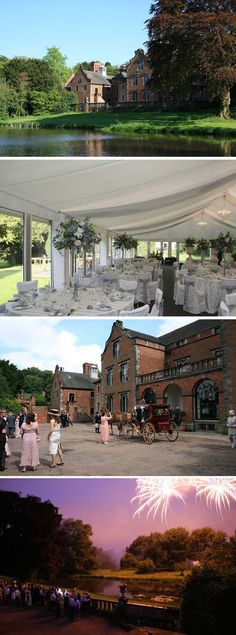 Set in two acres of landscaped gardens Thrumpton Hall is a country house wedding venue in Nottinghamshire | Visit wedding-venues.co.uk