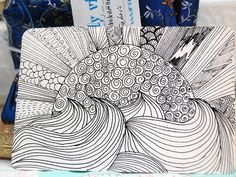 Zentangle Patterns for Beginners | Zentangles For Beginners