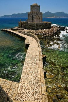 Castle of Methoni in Messenia, Peloponnese, Greece