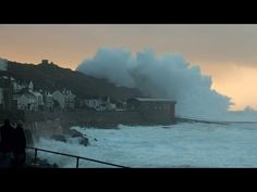 02/08/2016 - Storm Imogen has brought winds of nearly 100mph to Britain's southern coast, causing travel and power disruption for many people. Winds of up to 96mph were r...
