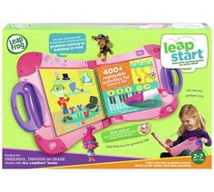 Buy LeapFrog LeapStart Learning System - Pink at Argos.co.uk, visit Argos.co.uk to shop online for Electronic reading systems, Electronic books and accessories, Electronic toys, Toys