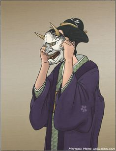 Today's yokai is a famous one that you have probably heard of or seen at one time or another. Those famous demon masks that are so iconic of Japanese demons come from this one. Movies like Onibaba,...