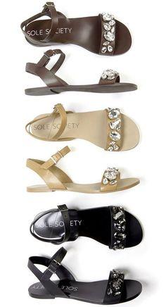 Gemma Bejeweled Sandals