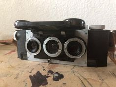 a681627aa6e Vintage Stereo Camera Stereo Realist by David White Stereo Camera with  Lenscap