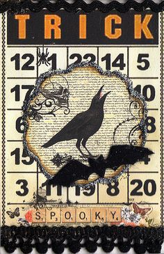 Crow  ~ Artist Trading Card #ATC
