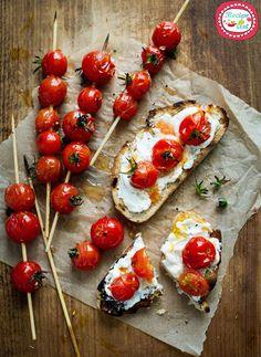 Crostini ai Pomodori Confit