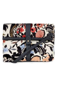 29 Crossbody Bags For Festival Season & Beyond #refinery29  http://www.refinery29.com/cute-crossbody-bags#slide-16  Don't ruin your thrift-store treasure at a busy music festival. For the same look, try this tapestry-inspired Topshop find instead.