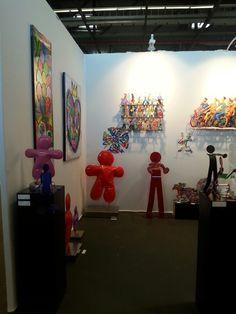 La Colorfield Team est en place au salon Art3g à Bordeaux !