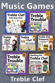 Looking for Treble Clef Elementary Music Games? Reading notes on the Treble Clef staff is so easy for your elementary music students with these fun music activities! Fun Music, Music Games, Music Mix, Teaching Music, Music Teachers, General Music Classroom, Music Education Activities, Elementary Music Lessons, Reading Notes