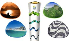 The design of the Rio 2016 Torch was inspired by the Olympic spirit, our country's nature, and the harmonious diversity and energy of our people