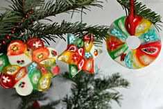 Candied Ornaments