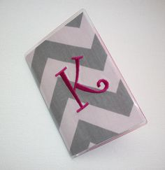 Passport Cover / Holder / Case  Chevron  Zig Zag  ZigZag by Laa766