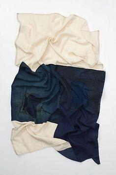 imogene + willie boro patchwork scarf