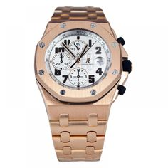 Audemars Piguet Royal Oak Offshore Rose Gold Chronograph Watch 26170OR.OO.1000OR.01