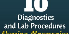 10 different Diagnostic and Lab procedures with normal values nursing mnemonics Nursing Lab Values, Nursing Labs, Nursing Profession, Ob Nursing, Maternity Nursing, Nursing Assessment, Nursing Mnemonics, First Job Tips, Rn School