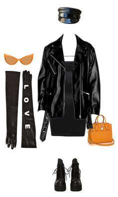 """""""Untitled #4425"""" by kimberlythestylist ❤ liked on Polyvore featuring UNIF, Versace and Tom Ford"""