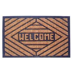 MagicHome Rohožka RBP Welcome cm, guma/panama Welcome, Panama, Decor, Decoration, Panama Hat, Decorating, Deco, Panama City