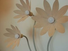DIY. LAMPARA DE PIE, DISEÑO FLORAL. FLORAL DESIGN LAMP