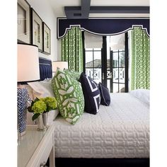 The Chinoiserie Bedroom Chinoiserie Chic ❤ liked on Polyvore featuring home and home decor
