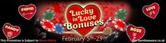 End the #February month with smile!! Last day to grab huge #cash, bonus #spins and more!! Sign up and grab now: http://www.topslotsite.com/promotions/lucky-in-love/?tracker=170800&dynamic=socialVIP