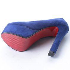 Open Toe Platform Thick Heel Pumps