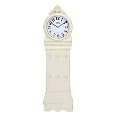 Cream Vintage Grandfather Clock | Dunelm