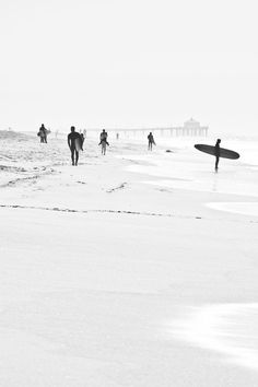 Surfing in Huntington Beach, California.