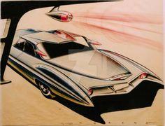vintage concept car by cadillacstyle on DeviantArt