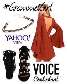 """#grommetgirl"" by jayajav ❤ liked on Polyvore featuring LULUS, Qupid, thevoice and YahooView"