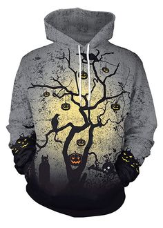 Hoodies & Sweatshirts Jack O Lantern Pumpkin Halloween Clothing Hoodies Sweatshirts Men 2018 New Winter Autumn Hooded Hoody Holiday Costumes Hoodie
